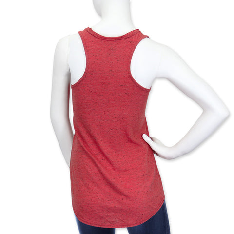 Nebraska Huskers Sparkly Tank by Adidas - Red