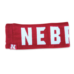 Ladies Nebraska Huskers Winter Earband