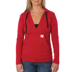 Womens Nebraska Huskers Stretch Yoga Hoodie