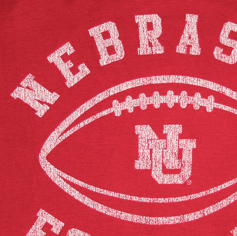Retro Nebraska Huskers Football Tank
