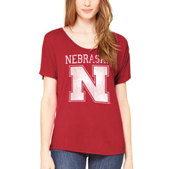 Nebraska Huskers Comfortable Womens Top