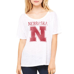 University of Nebraska Slouch Fit Womens Top