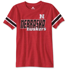 Nebraska Huskers Colosseum Youth Kids T-Shirt