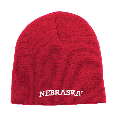 University of Nebraska Red Stocking Cap