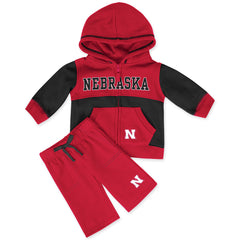 Nebraska Huskers Toddler Fleece Set