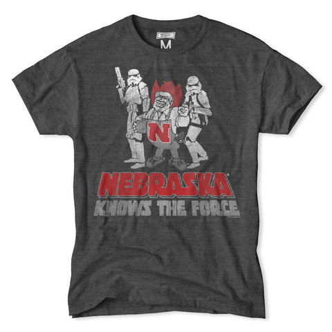 Nebraska Knows the Force Huskers Tee