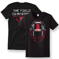The Field is My Stage Nebraska Football Tee