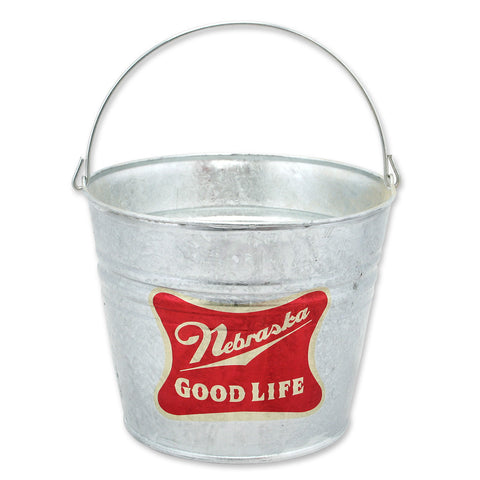 Nebraska The Good Life Beer Bucket