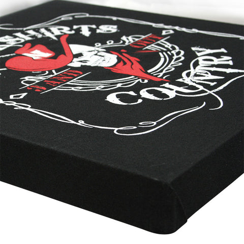Blackshirts Country Canvas
