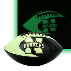 Nebraska Huskers Kids Glow in the Dark Football
