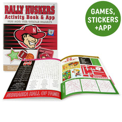 Nebraska Huskers Kids Christmas Gift Activity Book
