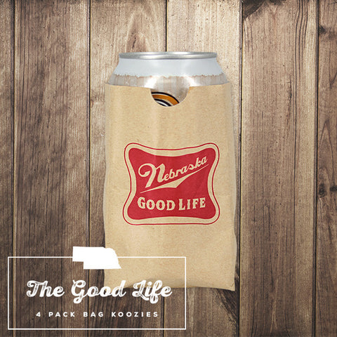 Nebraska Good Life Sip Sac