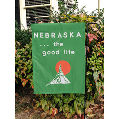 Welcome to Nebraska Garden Flag