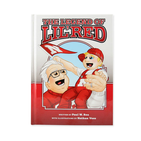 The Legend of Lil' Red Husker Book