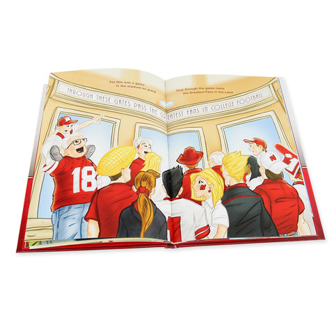 The Legend of Lil Red Husker Book