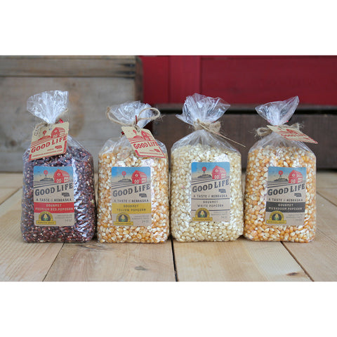 Nebraska Grown Popcorn Gift Basket