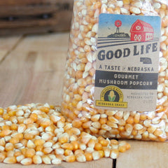 A Taste of Nebraska Good Life Mushroom Popcorn
