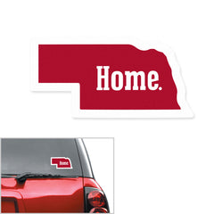 Nebraska Home Auto Decal