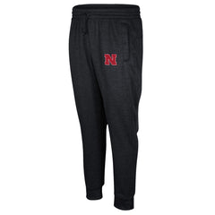 2016 Nebraska Huskers Football Player Warm-Up Pant by Adidas- Black