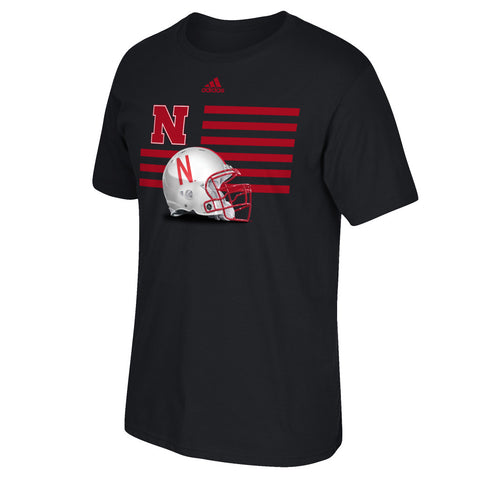 Nebraska Prevent Defense Football Tee by Adidas - SS - Black