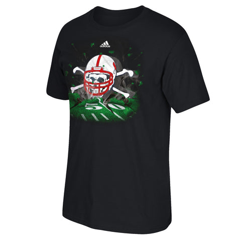 Nebraska Blackshirts High Impact Tee by Adidas - SS - Black