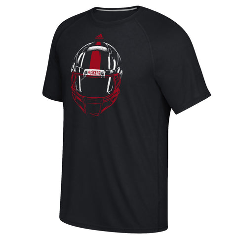 Focused on the Field Performance Tee by Adidas - Black - SS