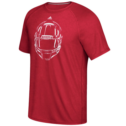 Focused on the Field Performance Tee by Adidas - Red - SS