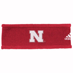 Nebraska Coaches Earband by Adidas - Red