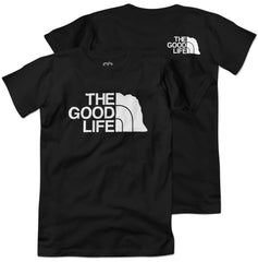 The Good Life Outdoors Tee - SS - Black