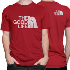 Nebraska The Good Life The North Face Style Tee