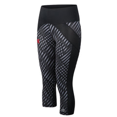 Nebraska Performance Yoga Pant by Adidas - Black