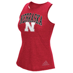 Arch Nebraska Tank by Adidas - Red