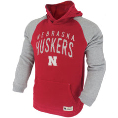 Youth Nebraska Huskers Foundation Hoody - Red - LS