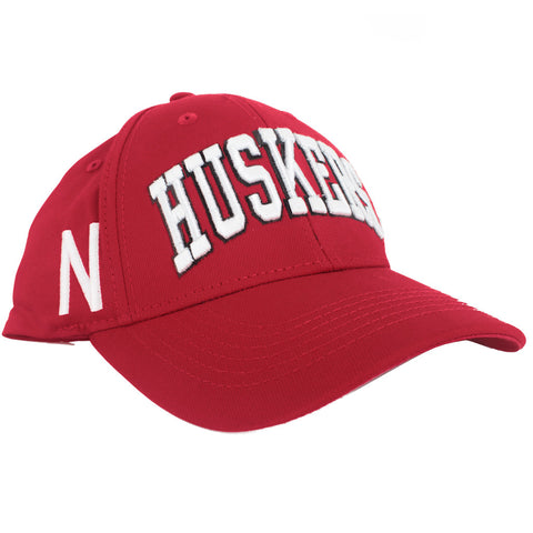 Husker Tradition Game Day Adjustable Hat - Red