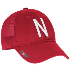 2016 Nebraska Football Coaches Flex Meshback Slope Hat by Adidas - Red