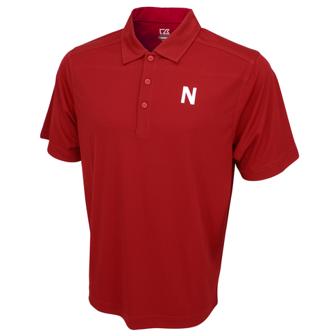 Nebraska Golf Polo by Cutter&Buck