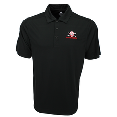 2018 Nebraska Football Blackshirt Drytec Polo Cutter&Buck
