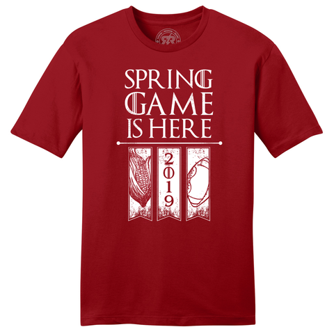 Spring Game is Here Red T-Shirt