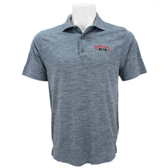 Men's Nebraska Striated Heather Polo-Grey