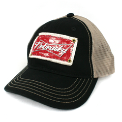 Men's Snap-Back Hat Nebraska Genuine Patch