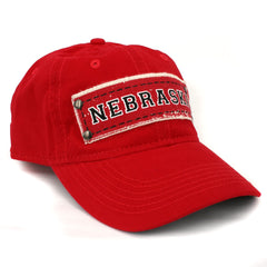 Men's Nebraska & Area Code Red Cap