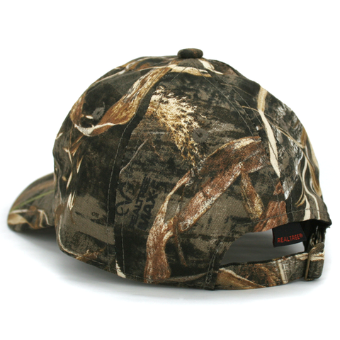 Men's Realtree Camo Nebraska Patch Hat Back