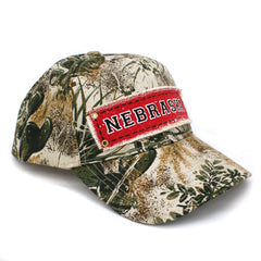 Men's Kati Game Guard Camo Nebraska Patch Hat Side