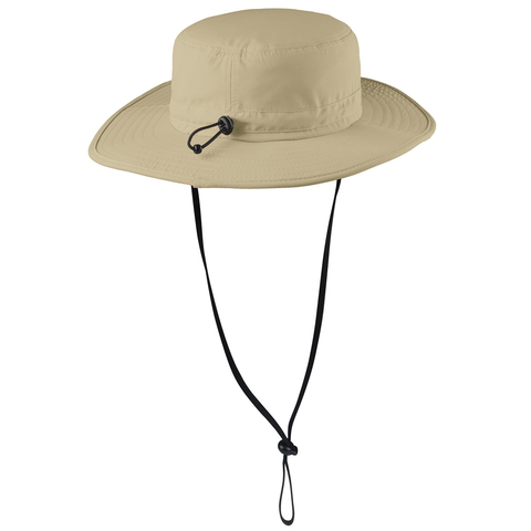 Nebraska Retro Patch Safari Hat Back