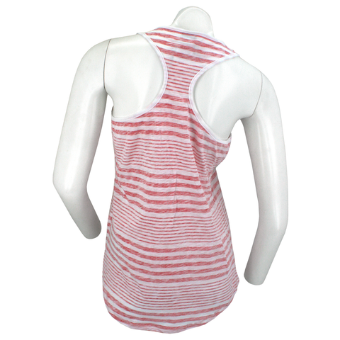 Nebraska Herbie Striped Racerback Tank Back