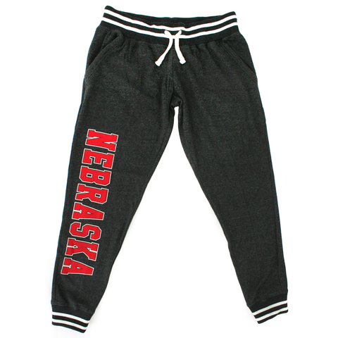 Women's Nebraska Relay Jogger-Black