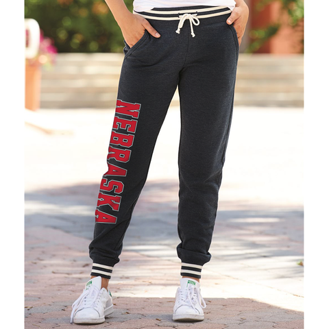 Women's Nebraska Relay Jogger-Black Model