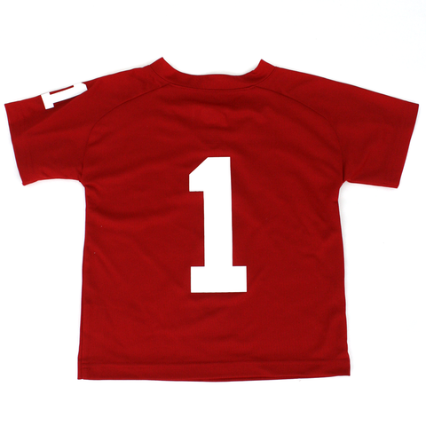 Toddler/Kids Nebraska #1 Football Performance Tee Back