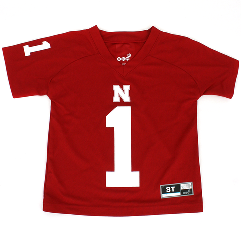Toddler/Kids Nebraska #1 Football Performance Tee