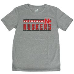 Kids/Youth Nebraska Huskers DriTek Tee
